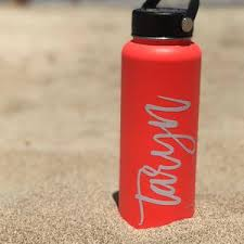 Sticker For Hydro Flask Name Decal For Hydro Flask Name Etsy