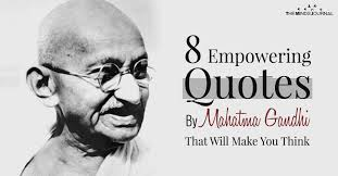 empowering quotes by mahatma gandhi