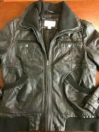xhilaration black faux leather jacket