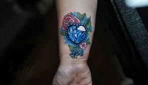Tatuaze Damskie Diament Jeilliebean