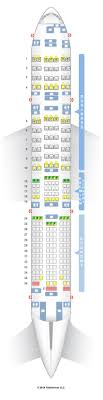 american airlines seating chart 772