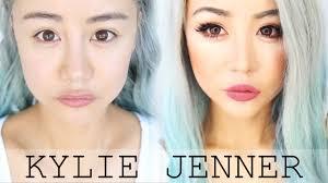 kylie jenner makeup transformation