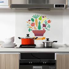 Colorful Fruit And Vegetable Oil Proof Wall Stickers Kitchen Oilproof Removable Wall Stickers Art Decor Home Decal Wallpaper Wall Decals Design Wall Decals Designs From Amaryllier 33 54 Dhgate Com