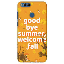 Huawei Honor 7x Case Premium Handcrafted Printed Designer Hard Shockproof Case Back Cover For Huawei Honor 7x Goodbye Summer Walmart Com Walmart Com