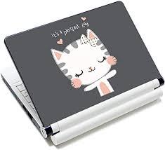 Amazon Com Laptop Skin Vinyl Sticker Decal 12 13 13 3 14 15 15 4 15 6 Inch Laptop Skin Sticker Cover Art Decal Protector Fits Hp Dell Lenovo Compaq Apple Asus Acer Cute Cat Arts