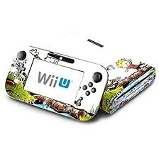 Calvin And Hobbes Comic Tiger Decorative Decal Cover Skin For Nintendo Wii U Console And Gamepad Oralefuw 63