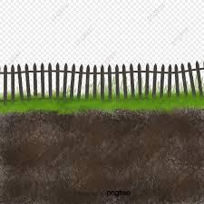 Fence Grassland Soil Soil Soil Profile Land Png Transparent Clipart Image And Psd File For Free Download