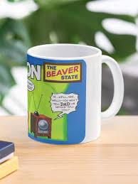 Oregon Beaver United States Of Alf Travel Decal Mug By Hackeycard Redbubble
