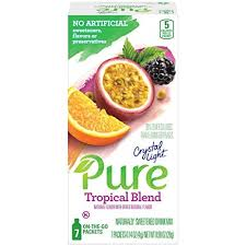drink mix peach tea on the go packets