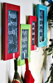 The Best Diy Christmas Stocking Hangers And Display Ideas Cheap And Easy Handmade Holiday Decorations Dreaming In Diy