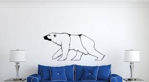 Polar Bear Wall Decal Vinyl Decals Nuovocreations Com Nuovocreations