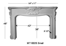 small french stone fireplace mantel