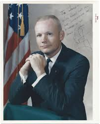 Neil Armstrong Signed Photograph | The Raab Collection