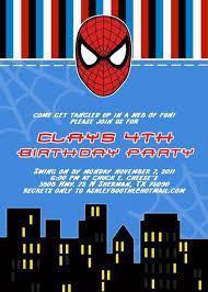 Spiderman Birthday Invitations Pinatas De Spiderman Invitacion