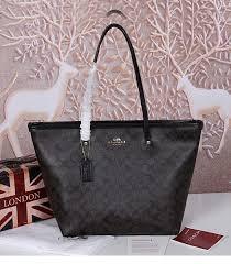 black canvas street zip tote bag