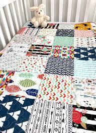 baby girl quilt patchwork crib bedding