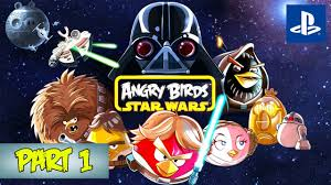 Angry Birds: Star Wars - Part 1 - Tatooine (PS4 Gameplay) - YouTube