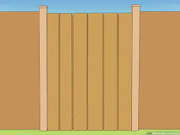 3 Ways To Make A Fence Gate Wikihow