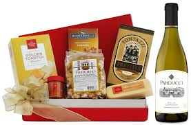 tempting treats gift basket
