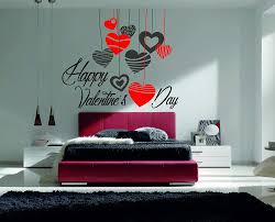 Amazon Com Happy Valentine S Day Hearts Quote Wall Decal Cupid Love Day Wall Decal Vinyl Sticker Teens Room Kids Decor 459 Home Kitchen