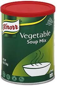 knorr vegetable soup mix 6 oz