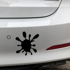 Yjzt 16 4x16 4cm Paint Stain Funny Scratch Occlusion Vinyl Decal Car Bumper Sticker C25 0420 Shop The Nation