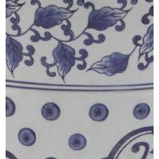 safavieh tao blue white ceramic garden
