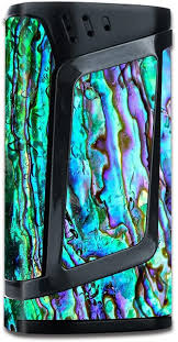 Skin Decal Vinyl Wrap For Smok Alien 220w Tc Vape Mod Skins Stickers Cover Abalone Ripples Green Blue Purple Shells Amazon Ca Cell Phones Accessories