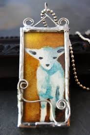 how to soldered glass art jewelry