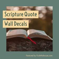 Teach With Scripture Wall Decals Do Everything In Love