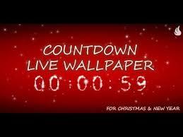 countdown live wallpaper you