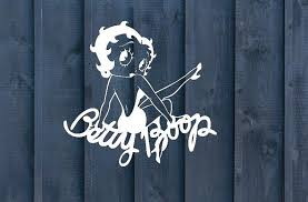 Betty Boop Decal Car Decal Sexy Decal Laptop Decal Cup Etsy