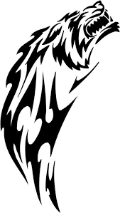 Tribal Cat Sticker Decals 27 Tribal Animals Decal Tribal Animals Sticker Car Decal Car Sticker Vinyl Decal Vinyl Sticker Window Sticker Window Decal Wall Graphics