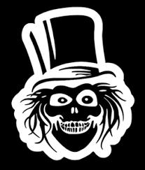 Disney The Haunted Mansion Hatbox Ghost Vinyl Decal Window Sticker Ebay