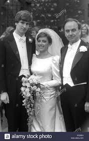 Wedding - St Michael's Church - Crispin Odey and Prudence Murdoch Stock  Photo - Alamy