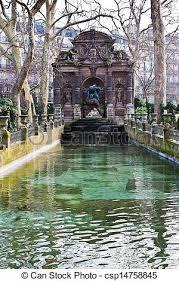 garden in paris fontaine de medicis