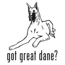 Got Great Dane Dog Decal 04 Vinyl Sticker
