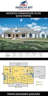 house plan 9279 00004 modern