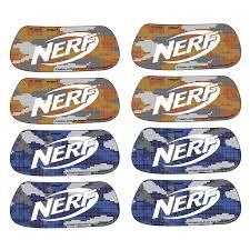 Nerf Party Eye Black Sticker Party Favors 16ct Walmart Com Walmart Com