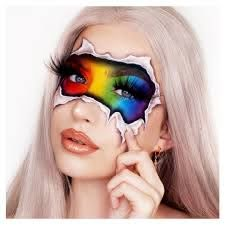 We love this Pride look by the amazing Abby Roberts Artistry MUA ...