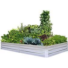 Amazon Com Greenes Fence Cedar Raised Garden Kit 2 Ft X 4 Ft X 10 5 In Garden Outdoor
