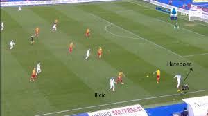 Lecce Atalanta: l'intesa tra Ilicic ed Hateboer