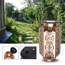 led lantern light outdoor garden