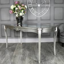 mirrored dining table tiffany range