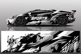 Premium Vector Sport Car Decal Wrap Design