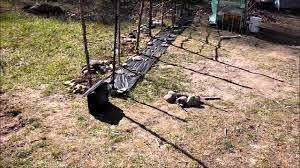 Setting Up Solar Electric Fence To Protect Chickens From Raccoons Youtube