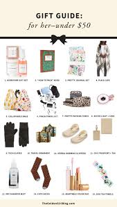 gift guide for her under 50 the