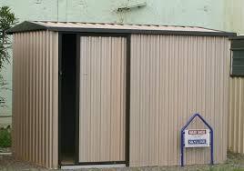 single sliding door garden sheds