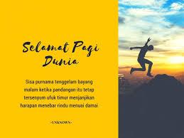 √ kata kata ucapan selamat pagi r tis islami motivasi