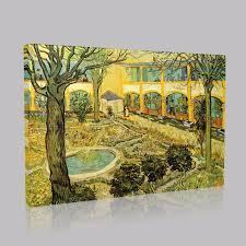 van gogh the asylum garden at arles